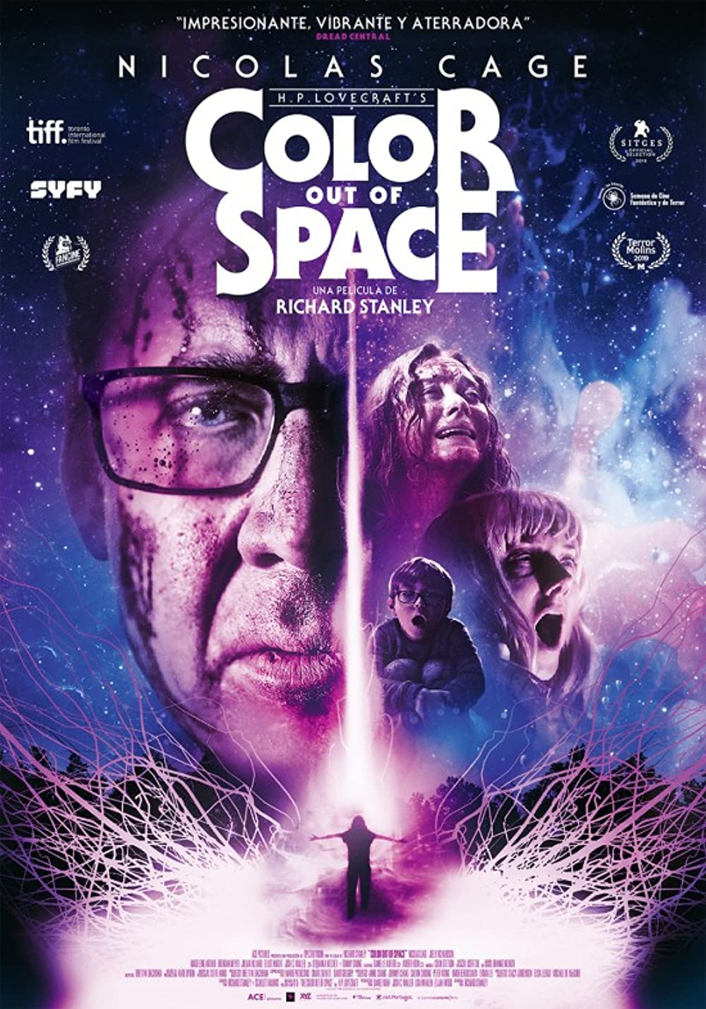 Color Out of Space (2021) Hollywood Hindi Full Movie BluRay
