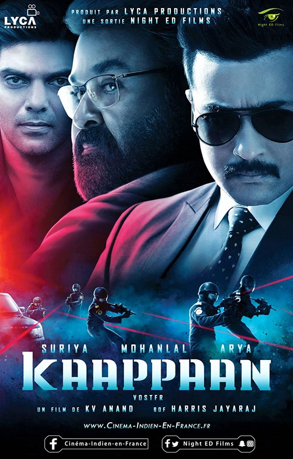 Rowdy Rakshak (Kaappaan) 2021 South Hindi Dubbed Movie HDRip UNCUT