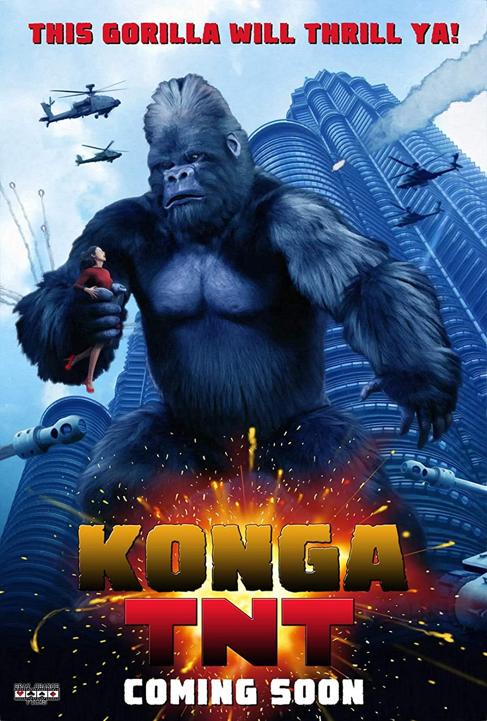 Konga TNT 2020 English HDRip 290MB Full Movie Download
