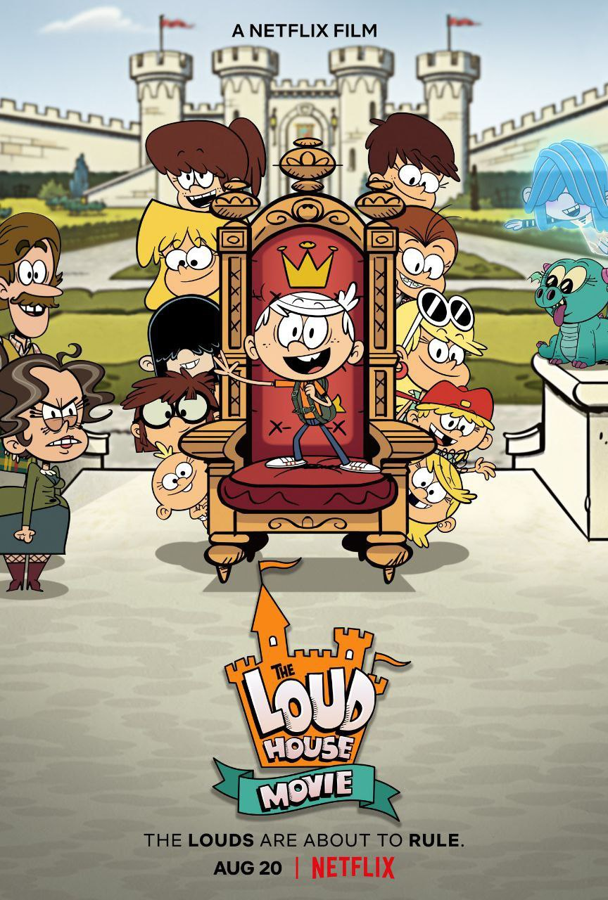 The Loud House (2021) 720p HEVC NF HDRip Hollywood Movie ORG. [Dual Audio] [Hindi or English] x265 AAC MSubs [450MB]