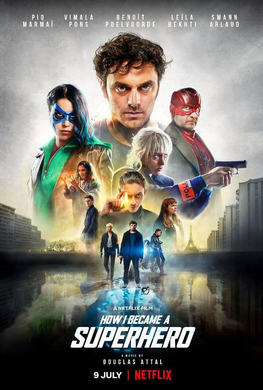 How I Became a Super Hero (2021) 720p HEVC NF HDRip Hollywood Movie ORG. [Dual Audio] [Hindi or English] x265 AAC MSubs [550MB]