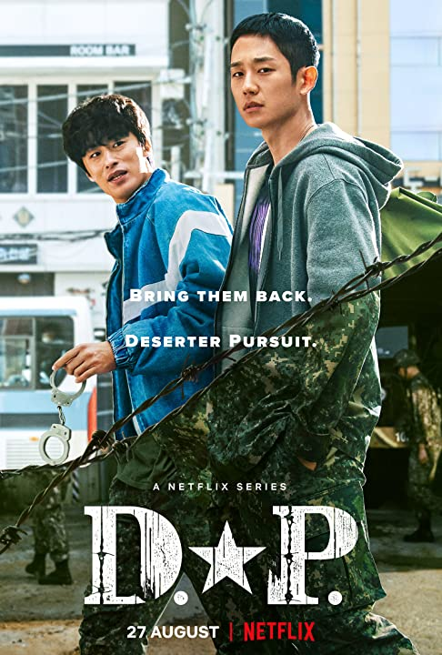 D.P. (2021) 480p HEVC HDRip S01 Complete NF Series [Dual Audio] [Hindi or English] x265 AAC ESubs [850MB]