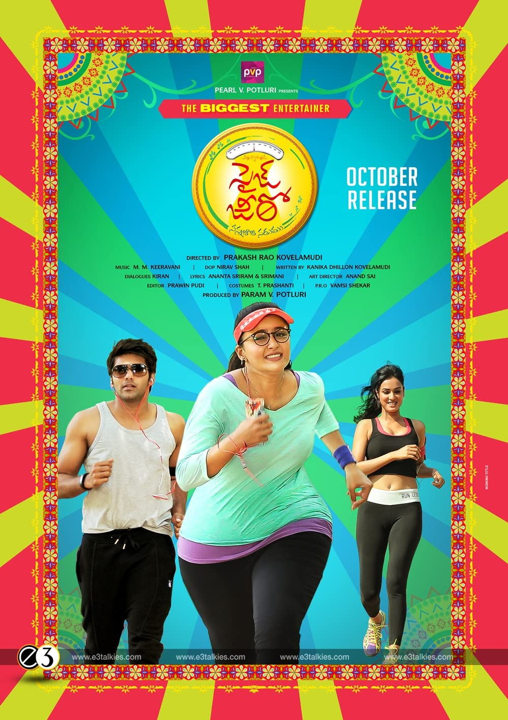 Size Zero (Inji Iduppazhagi) (2021) 720p  HDRip Hindi Dubbed Download