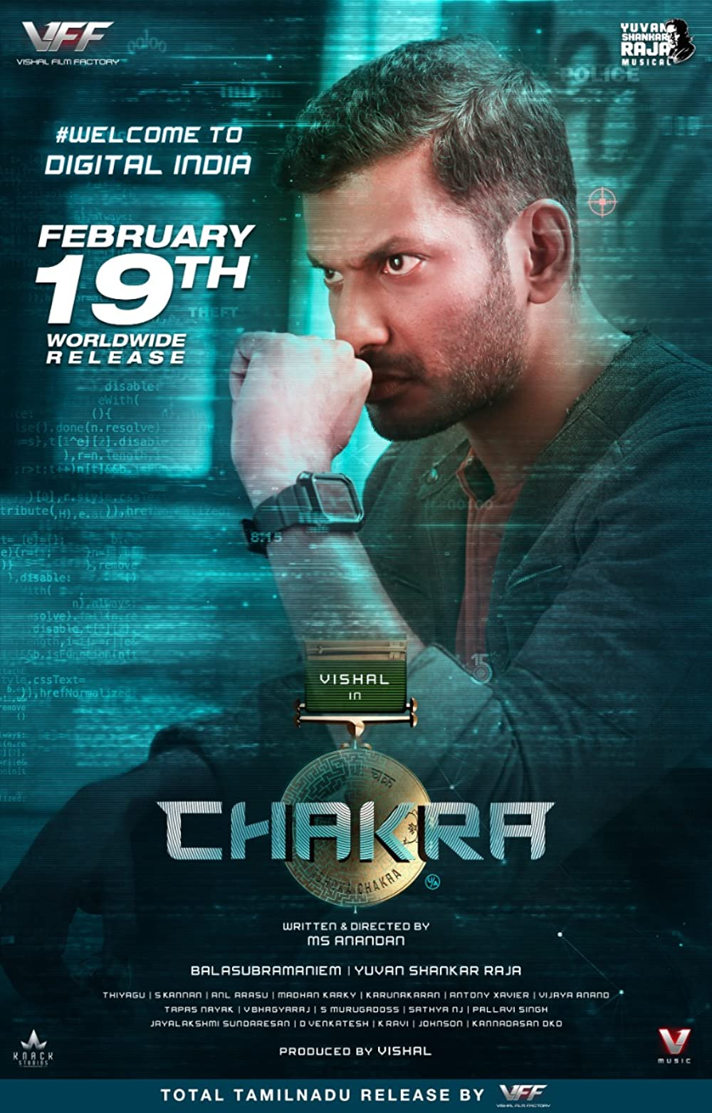 Chakra (2021) South Indian Hindi Dubbed [Cleaned] Movie HDRip