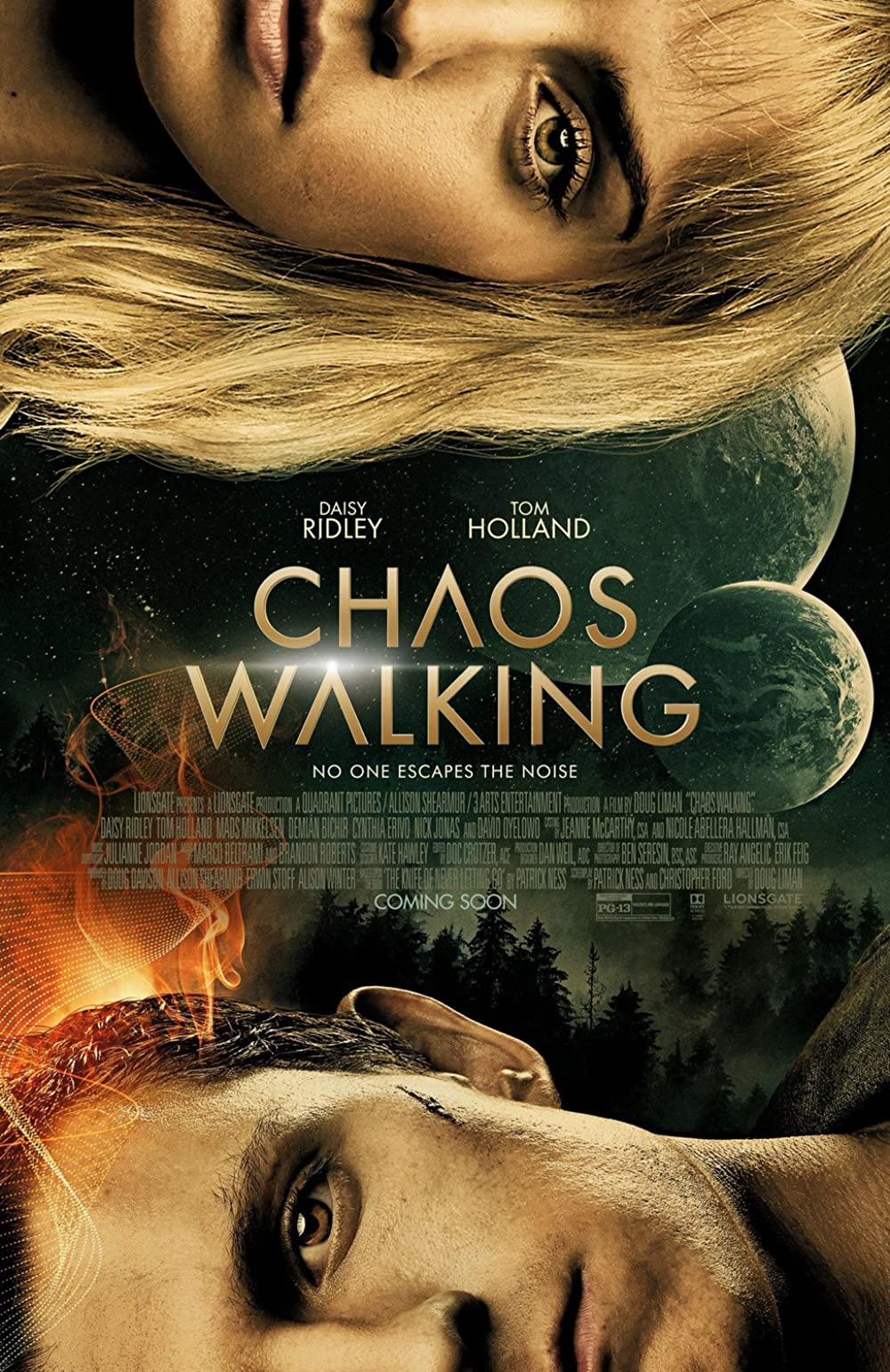Chaos Walking (2021) English Full Movie HDCam