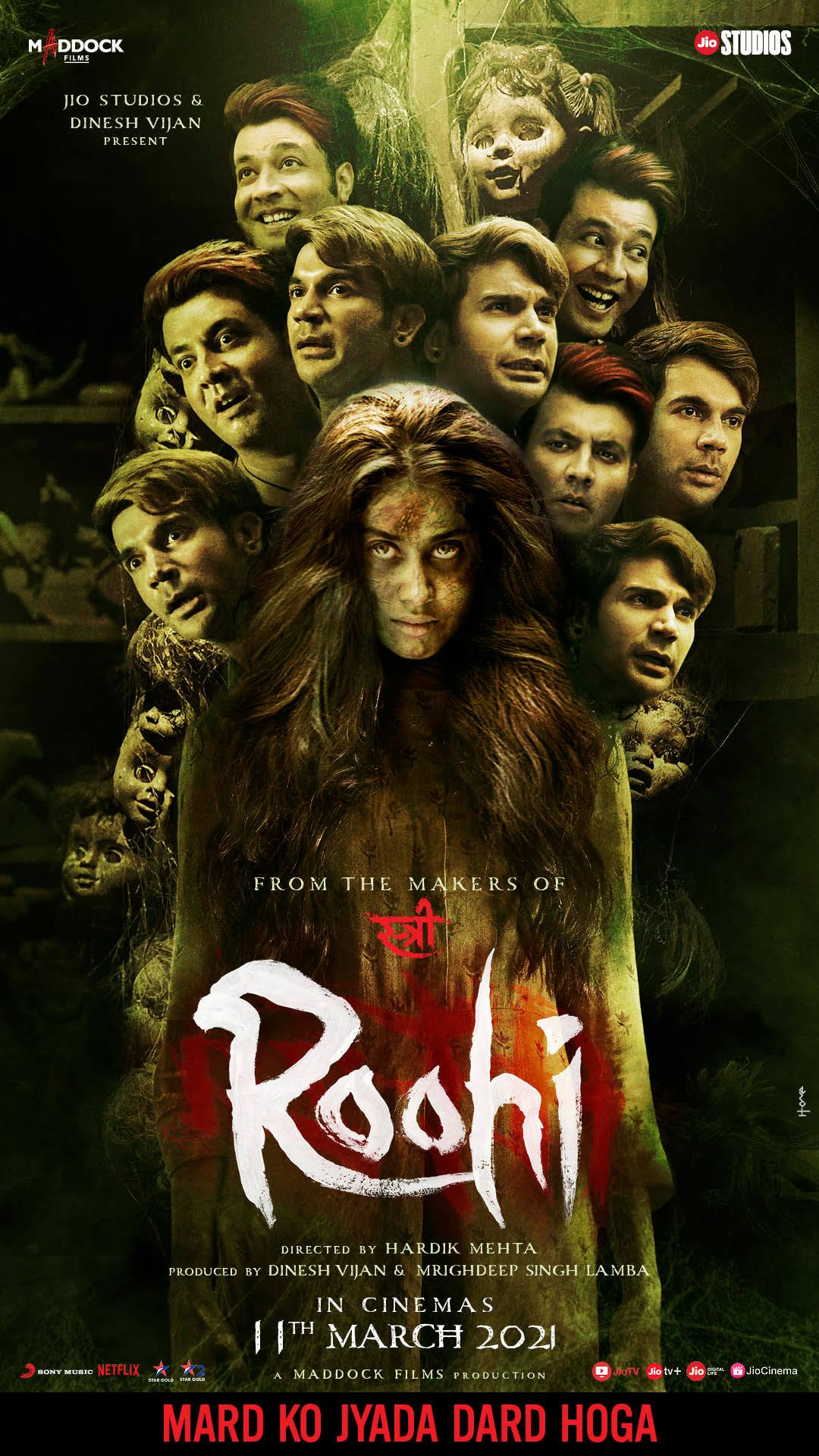 Roohi (2021) Hindi Full Movie Pre-DvDRip Download
