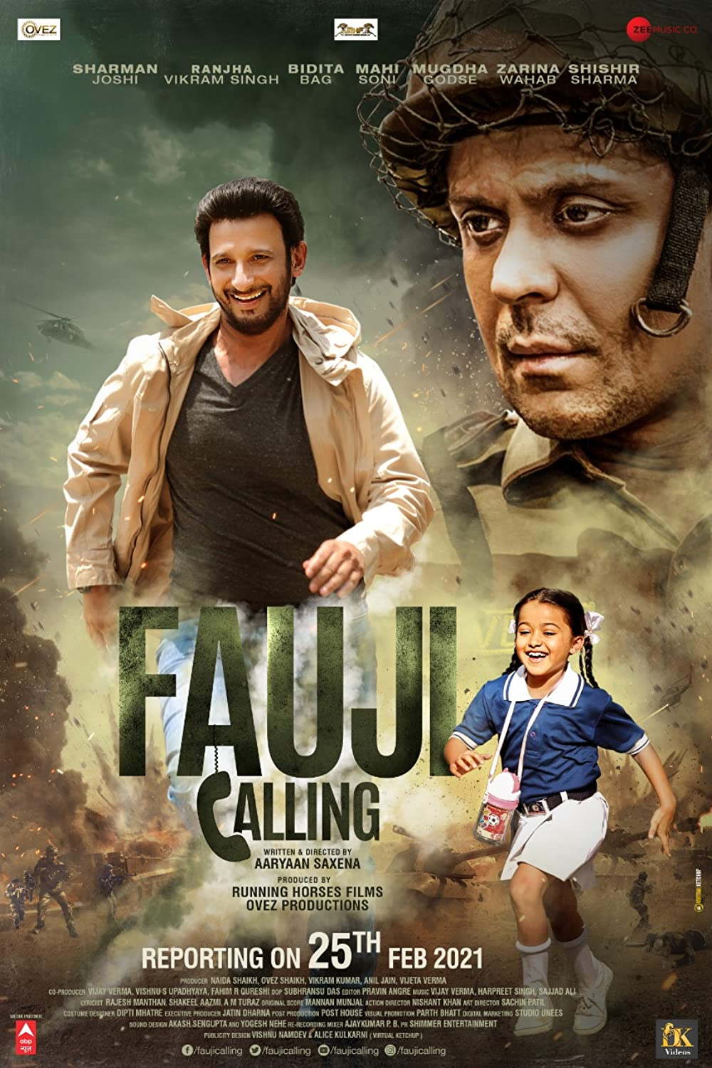 Fauji calling (2021) Hindi Full Movie pDVDRip