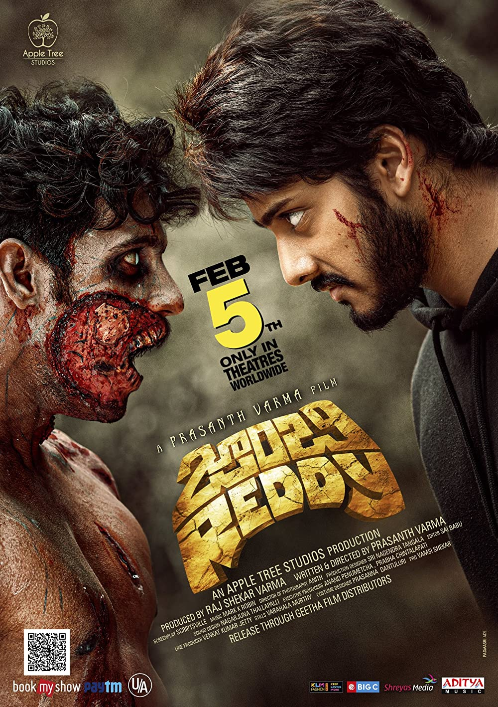 Zombie Reddy 2021 Telugu HDRip 400MB Download