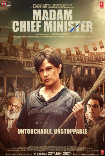 Madam Chief Minister (2021) Bollywood Hindi Full Movie HDRip