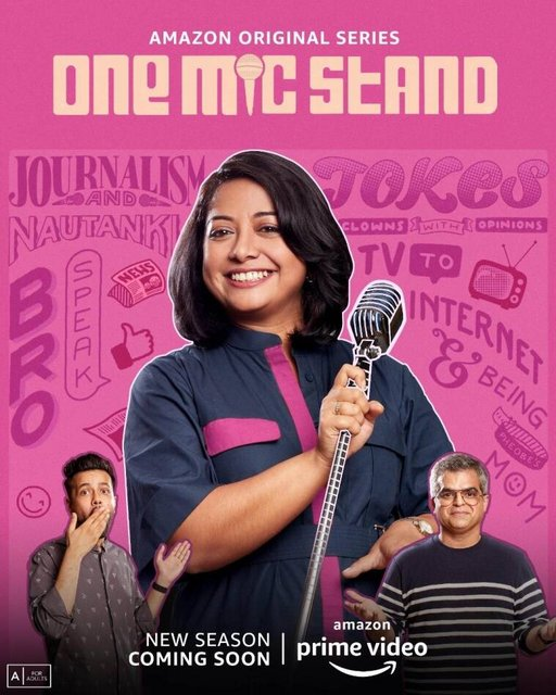 One Mic Stand (2021) 720p HEVC HDRip Hindi S02 Complete Web Series x265 AAC MSubs [800MB]