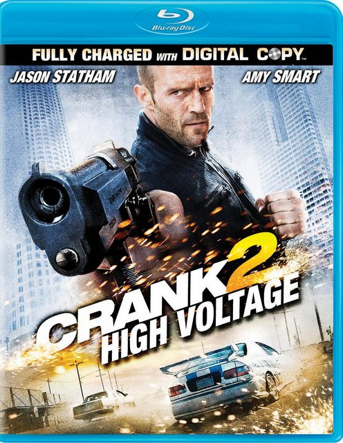 Crank 2: High Voltage (2009) UNRATED 720p HEVC BluRay Hollywood Movie ORG. [Dual Audio] [Hindi or English] x265 AAC ESubs [500MB]