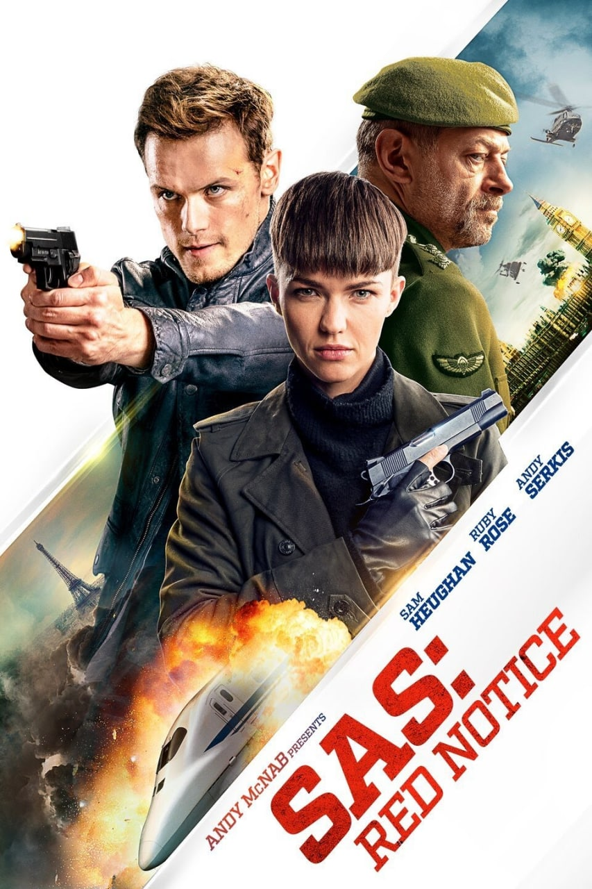 SAS: Red Notice (2021) 720p HEVC NF HDRip Hollywood Movie ORG. [Dual Audio] [Hindi or English] x265 AAC MSubs [650MB]