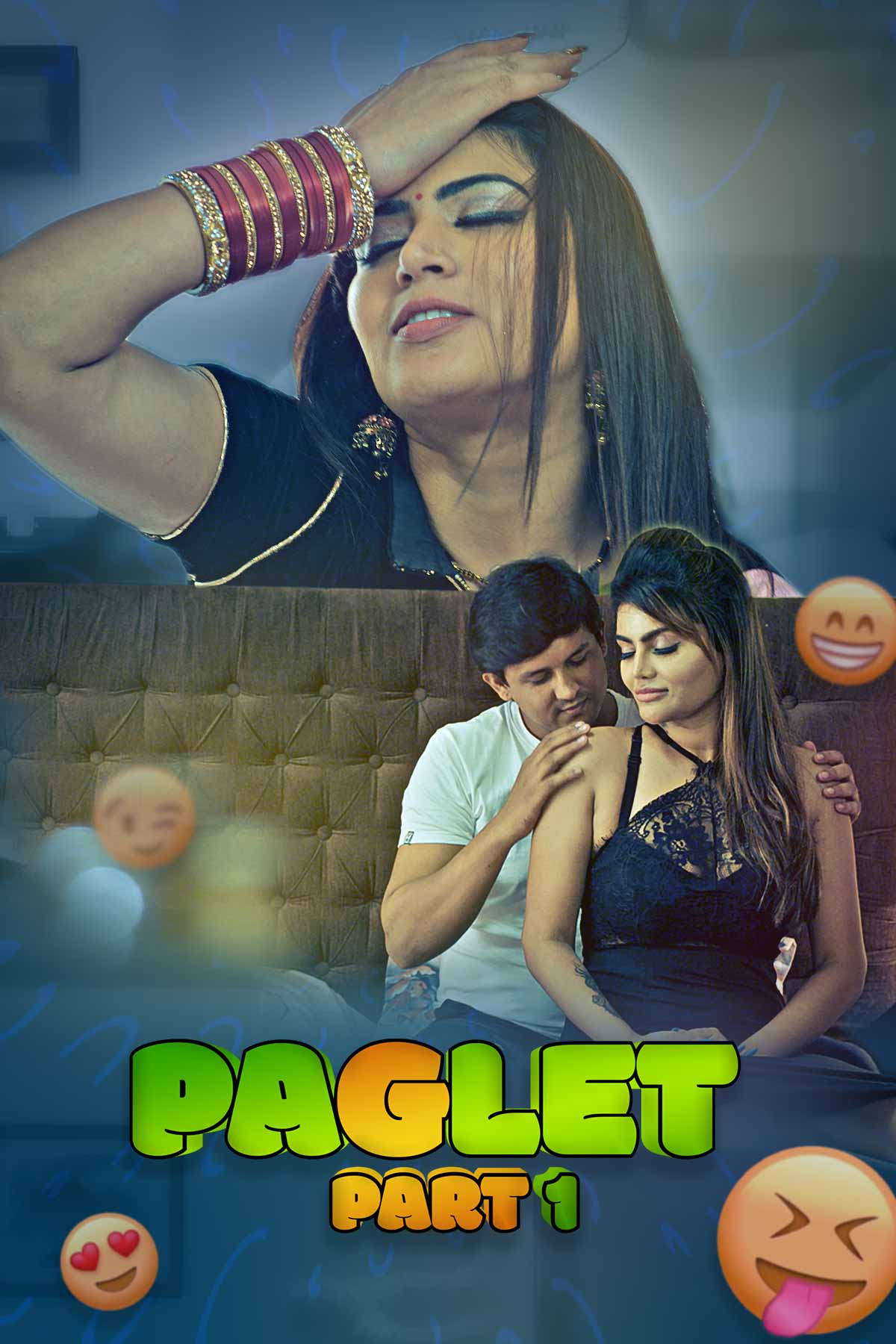 Paglet Part 1 (2021) UNRATED 720p HEVC HDRip Hindi S01 Complete Hot Web Series x265 AAC [250MB]