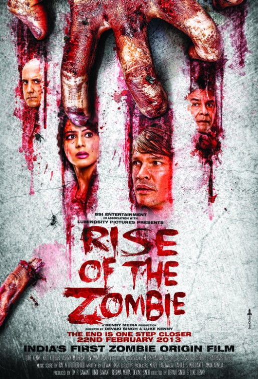Rise of the Zombie (2013) Hindi 720p HDRip x264 AAC ESubs Full Bollywood Movie [750MB]