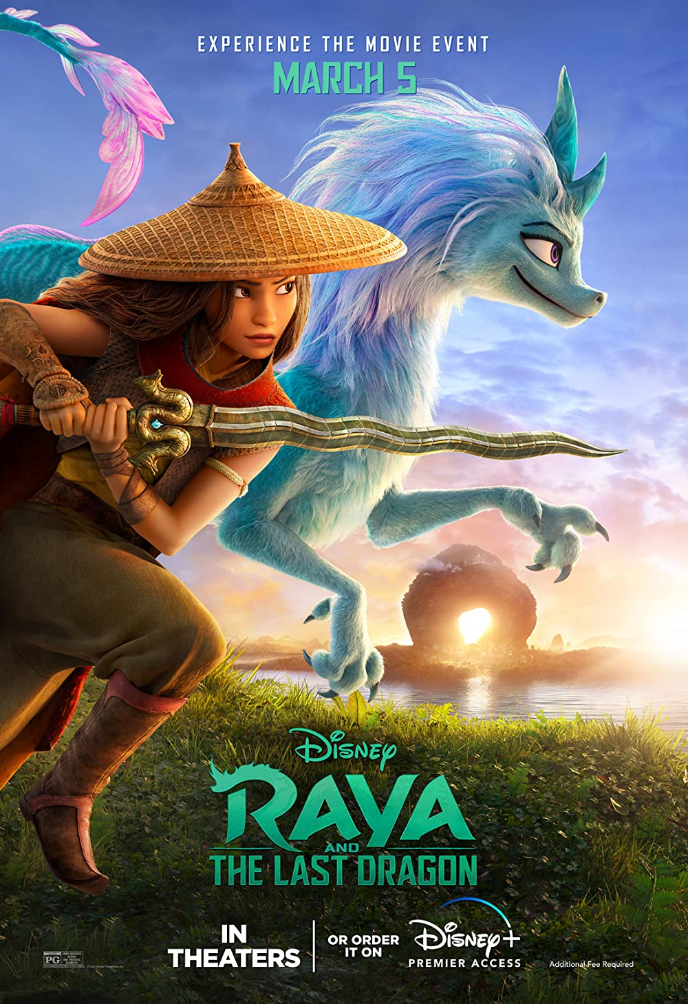 Raya and the Last Dragon (2021) English Full Movie HDRip ESub