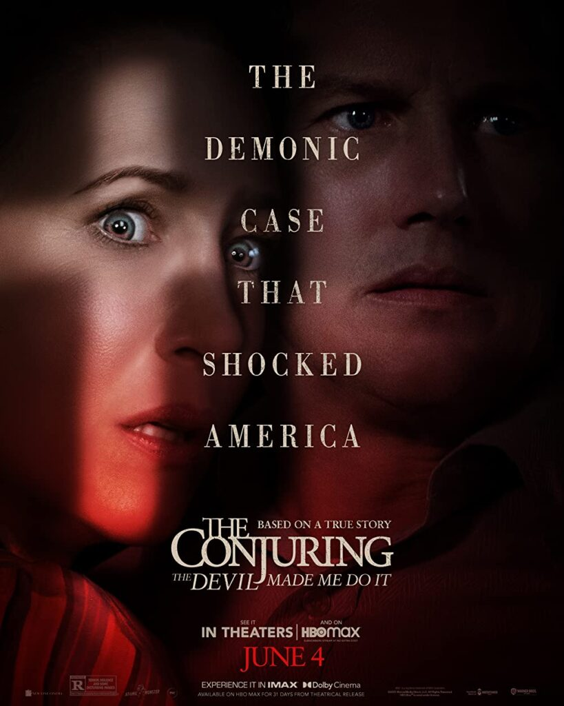 The Conjuring: The Devil Made Me Do It (2021) English Full Movie HDRip ESub