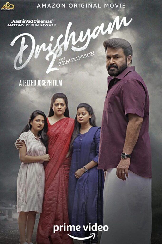 Drishyam 2 (2021) Malayalam Movie HDRip [हिन्दी and English Subtitles]