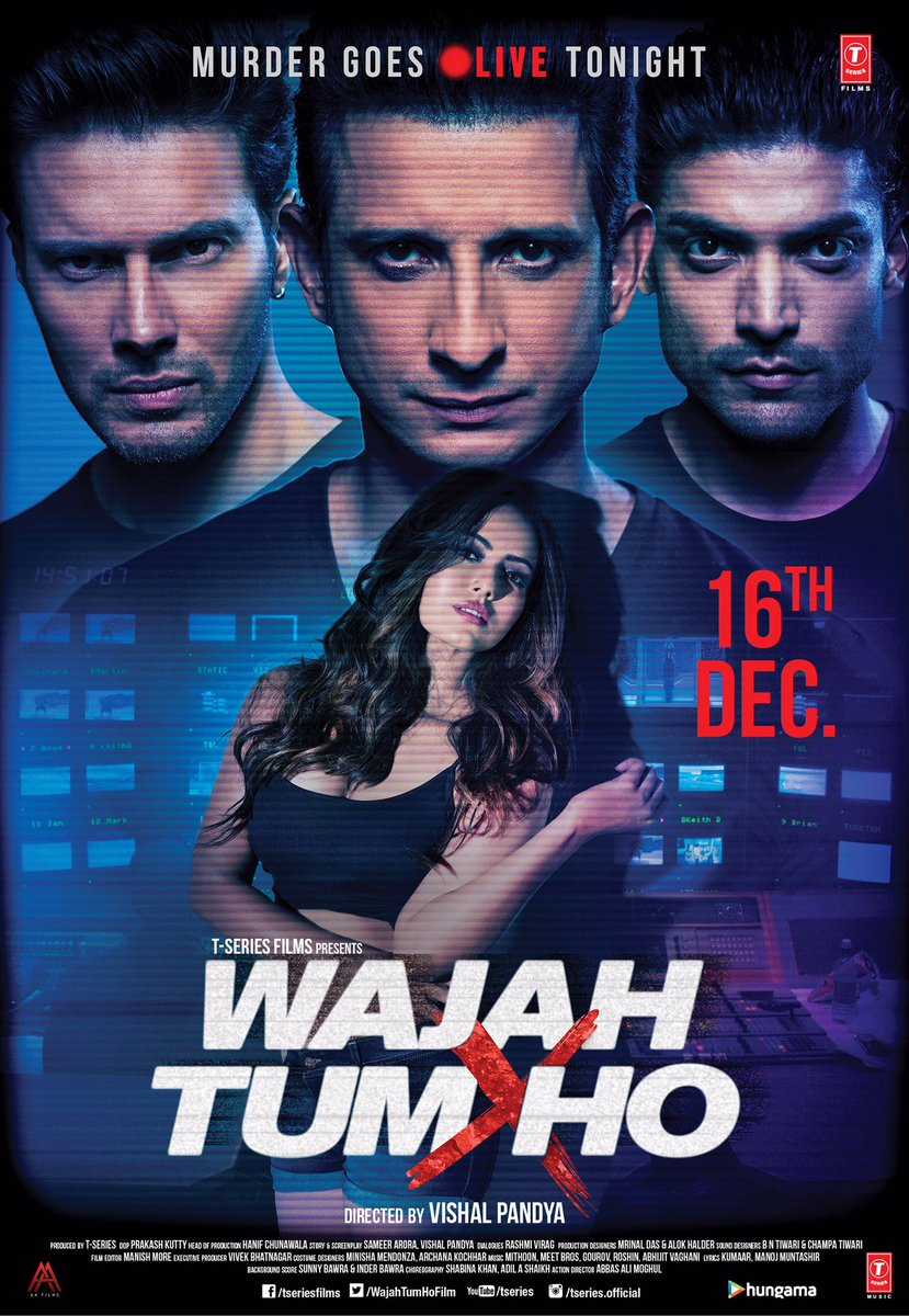 Wajah Tum Ho (2016) Hindi 720p WEB-DL Download