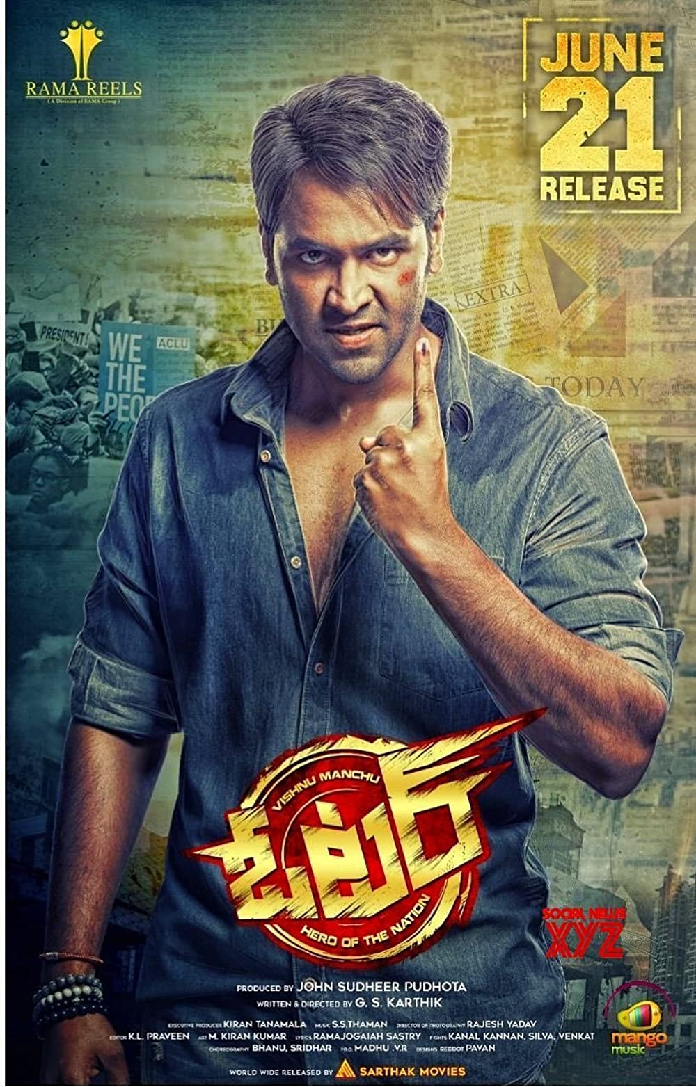 Voter (2021) South Indian Hindi Dubbed Movie HDRip
