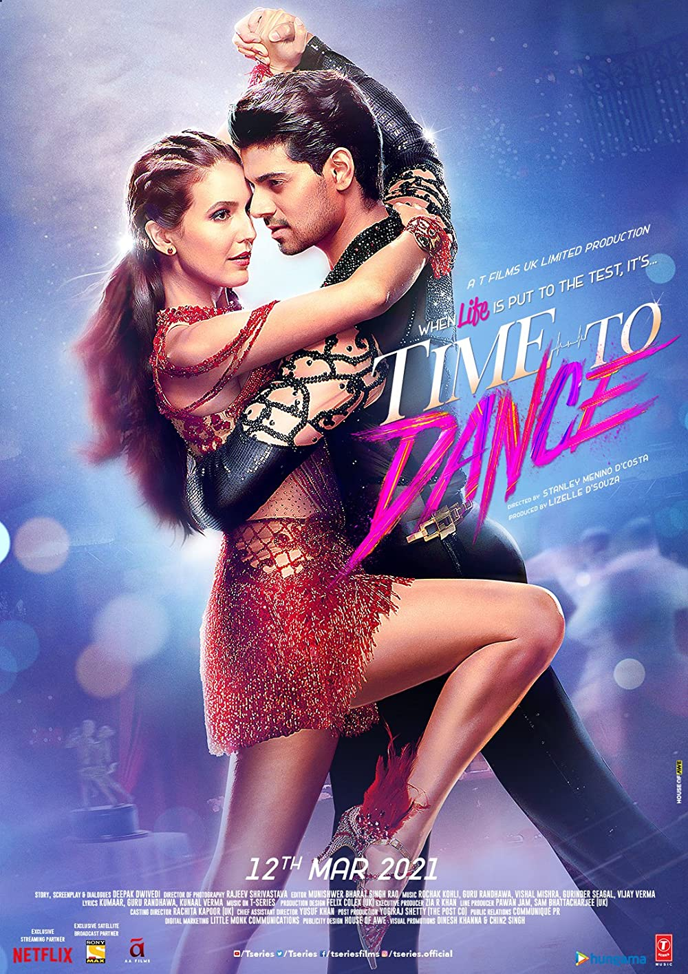 Time to Dance (2021) Bollywood Hindi Movie pDVDRip