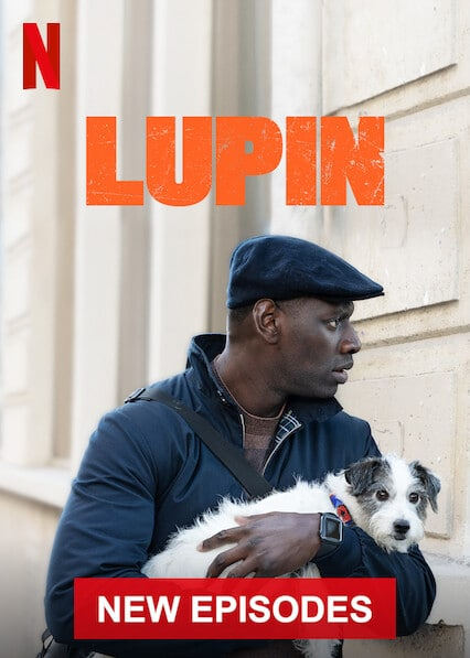 Lupin (2021) 480p HEVC HDRip S02 Complete NF Series [Dual Audio] [Hindi or English] x265 AAC MSubs [650MB]