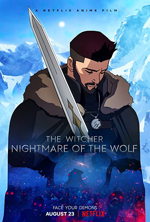 The Witcher: Nightmare of the Wolf (2021) 720p HEVC NF HDRip Hollywood Movie ORG. [Dual Audio] [Hindi or English] x265 AAC MSubs [450MB]