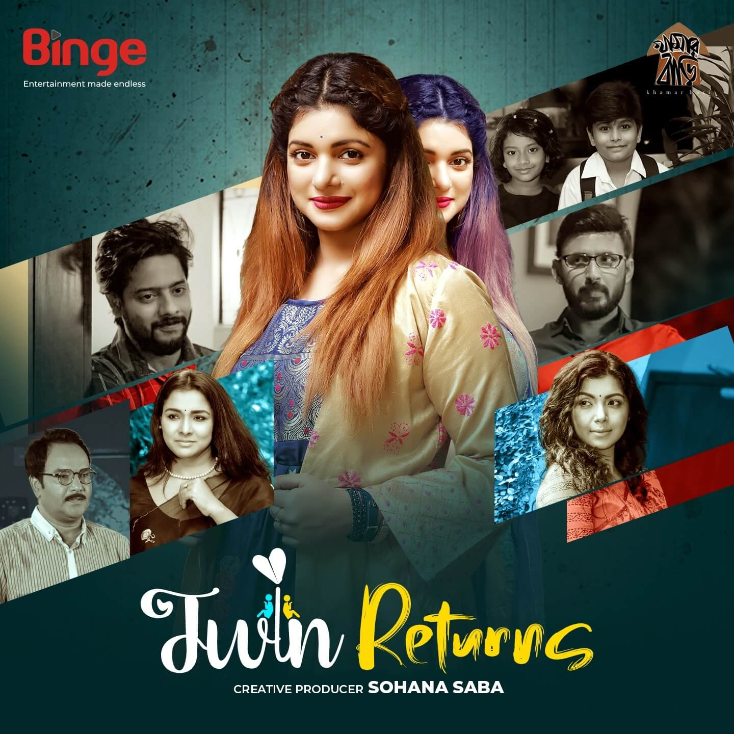 Twin Returns (2021) Bangla S01 Complete HDRip  –  720P  – x264 – Download