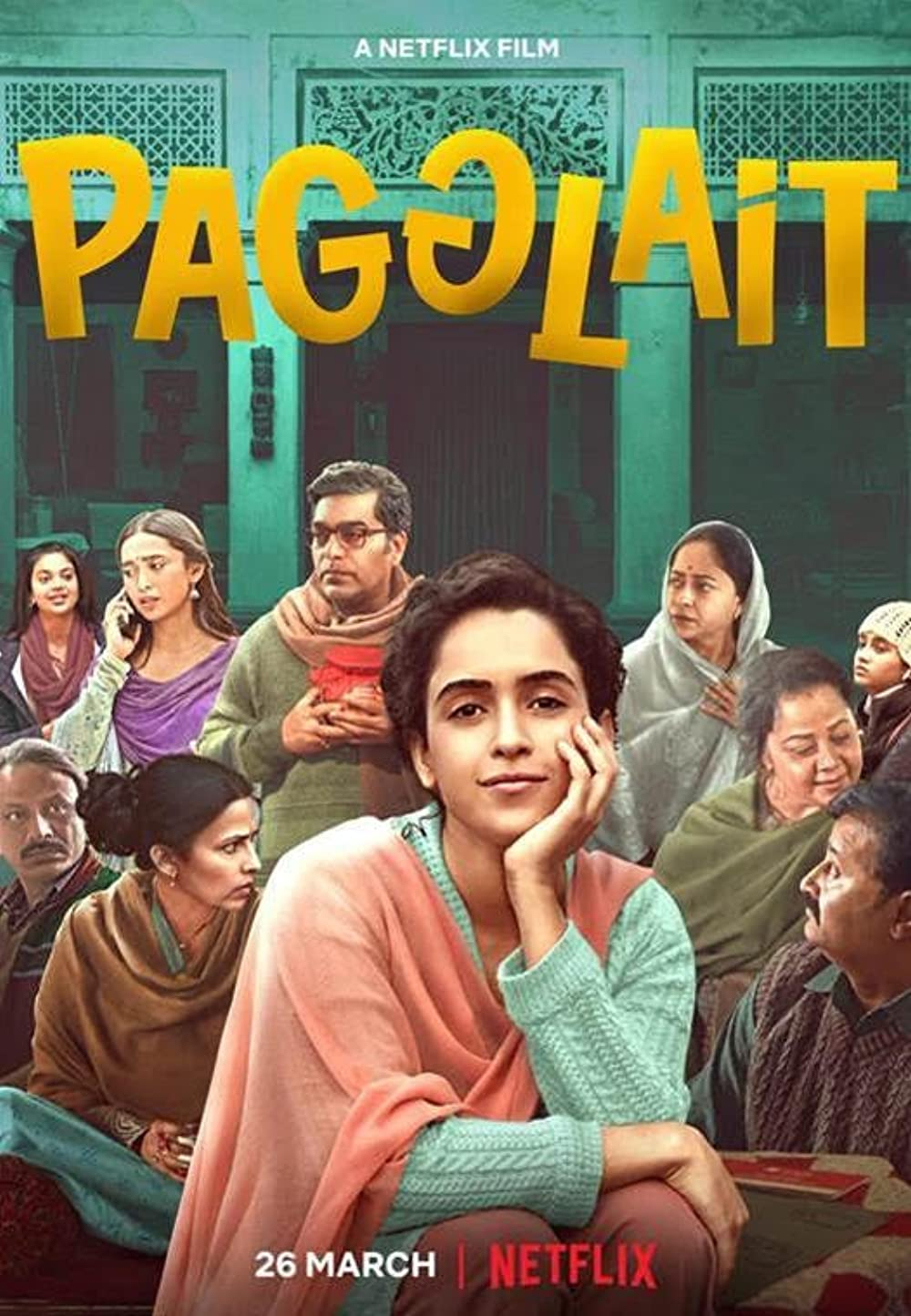 Pagglait (2021) Hindi Full Movie HDRip ESub