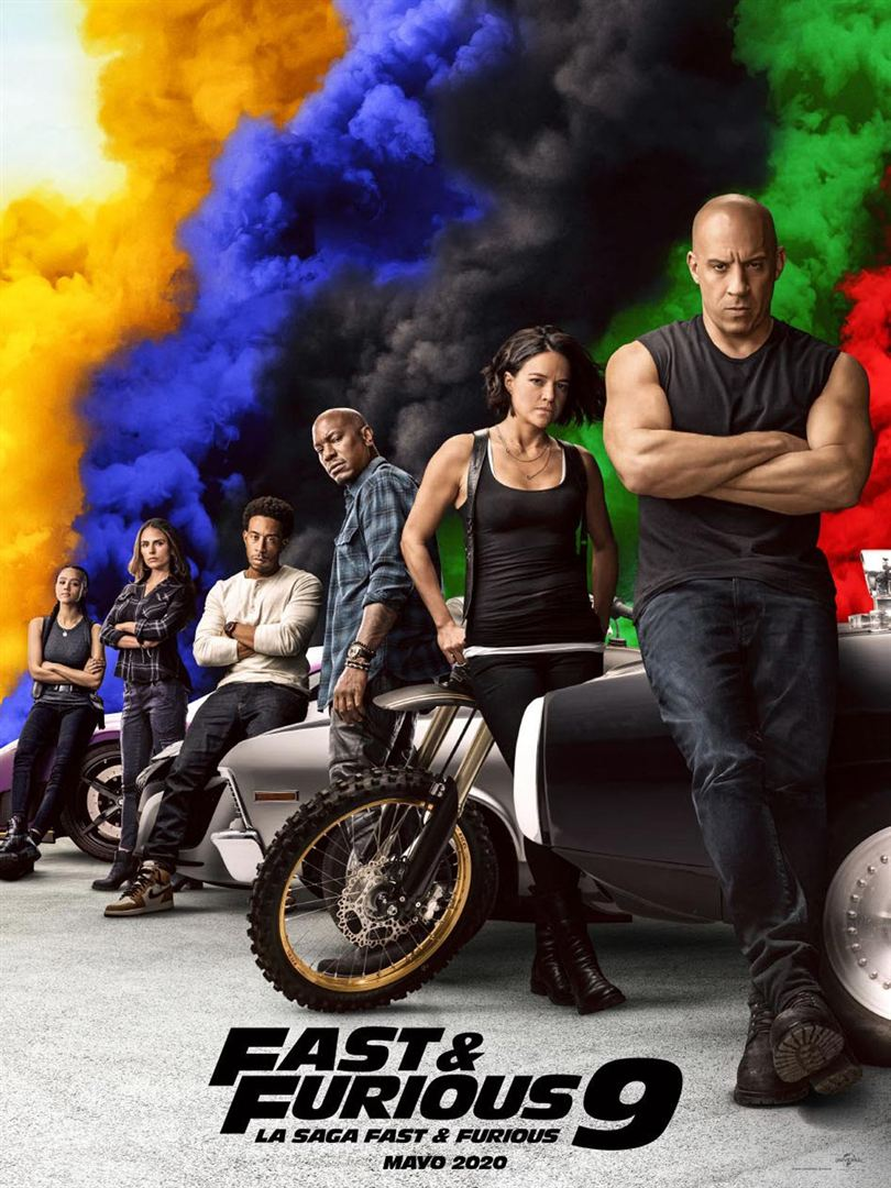 Fast And Furious 9 (2021) 480p HDRip Hollywood Movie [Dual Audio] [Hindi (CAM Cleaned) or English] x264 AAC ESubs [500MB]