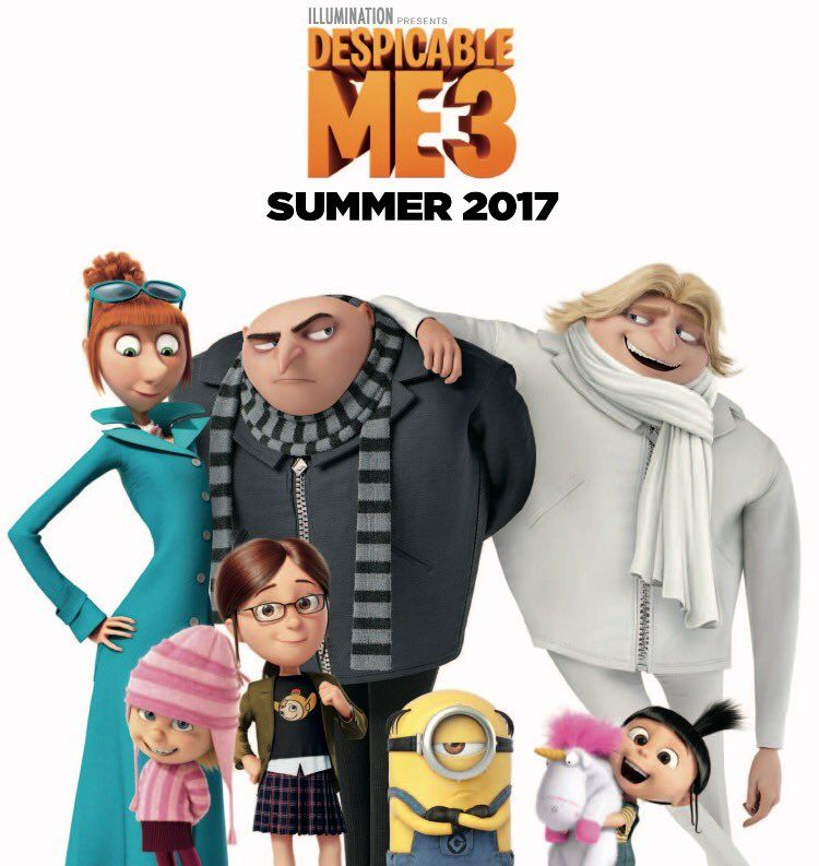 Despicable Me 3 (2017) Full Movie in Hindi Dubbed Download